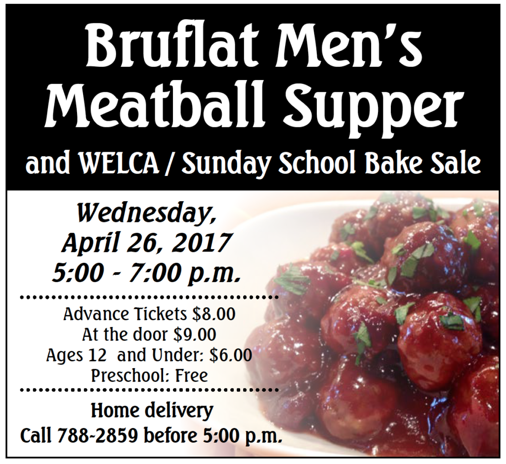 Bruflat Men's Meatball Supper