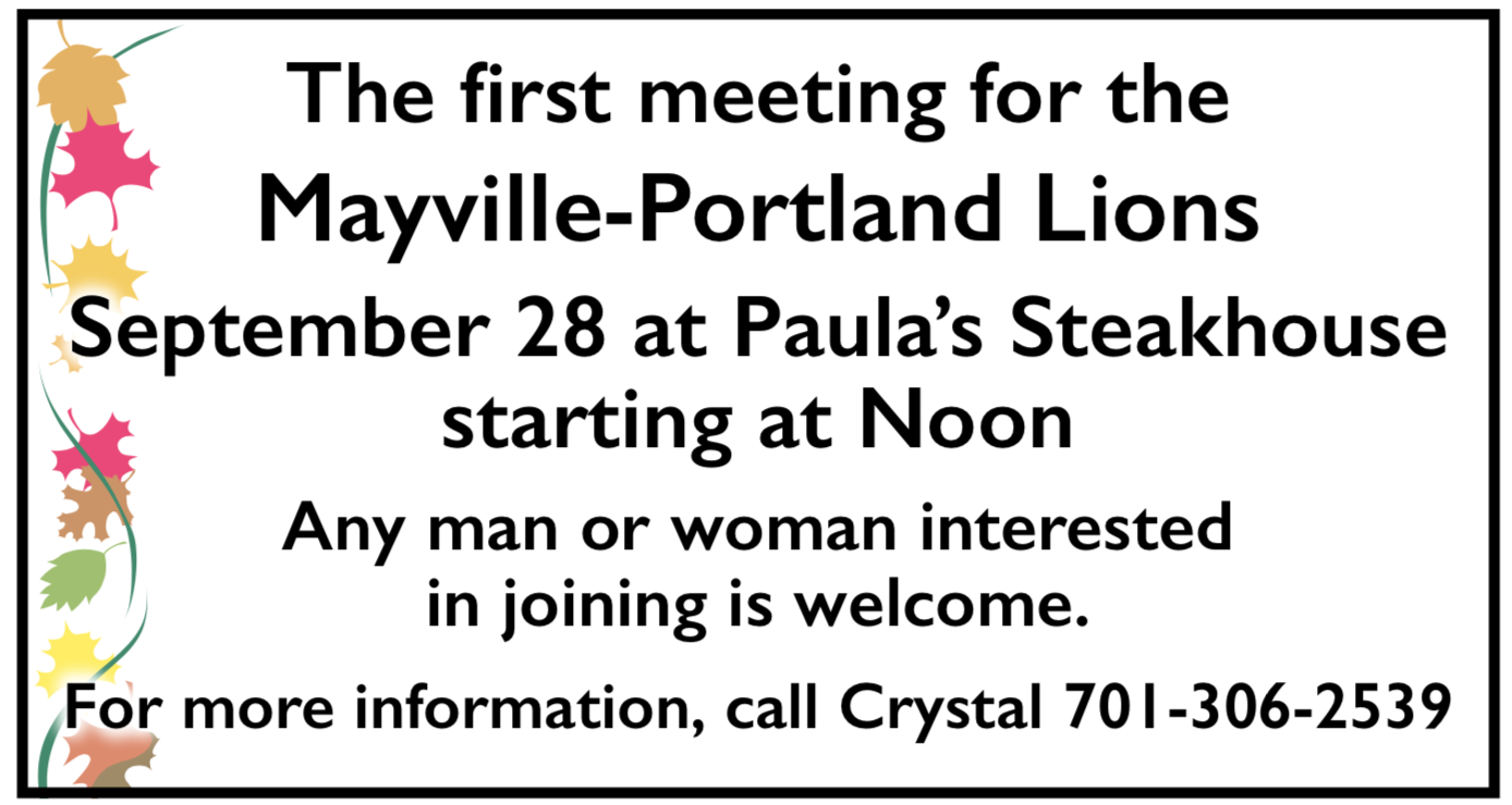 May-Port Lions Meeting @ Paulas Steakhouse