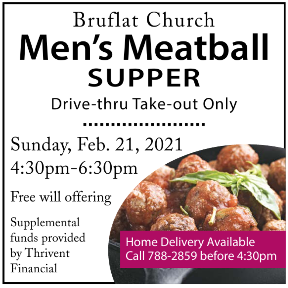 Bruflat Church Men's Meatball Supper